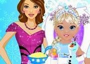 Princesa Elsa Babysitter
