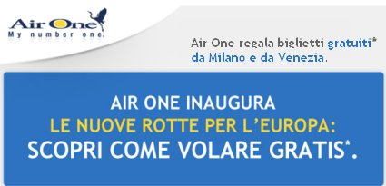 AirOne Offerta