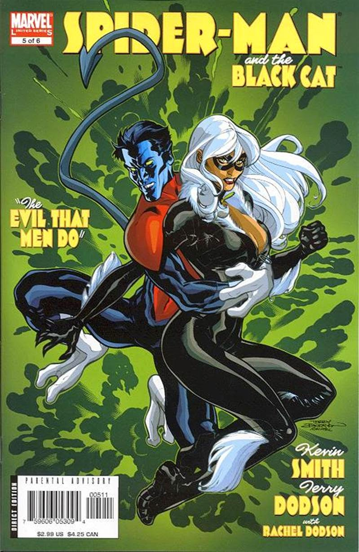 Homem-Aranha e Gata Negra - O mal nos corações dos Homens #5