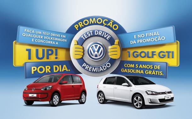 """Promoção Test Drive Premiado"" - Volkswagen do Brasil"