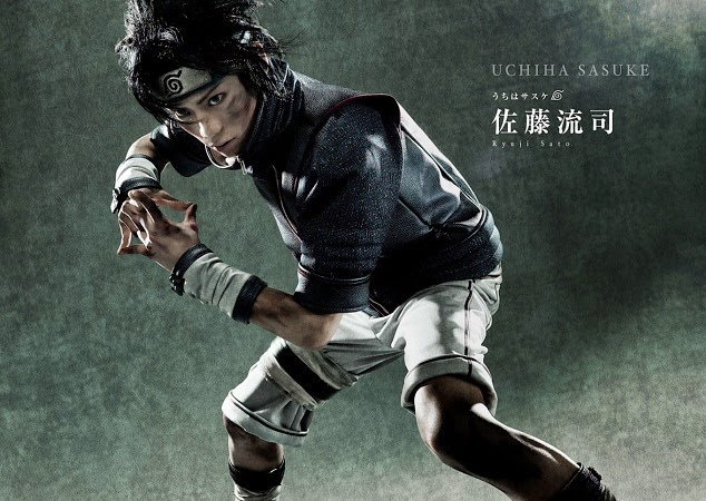 Ryuji Sato as Sasuke Uchiha