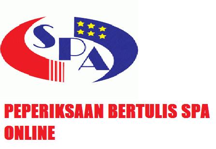Panduan Peperiksaan Online SPA 2014