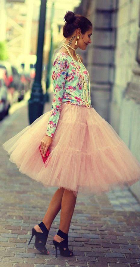 saias da moda, compra saia de tule, moda feminina
