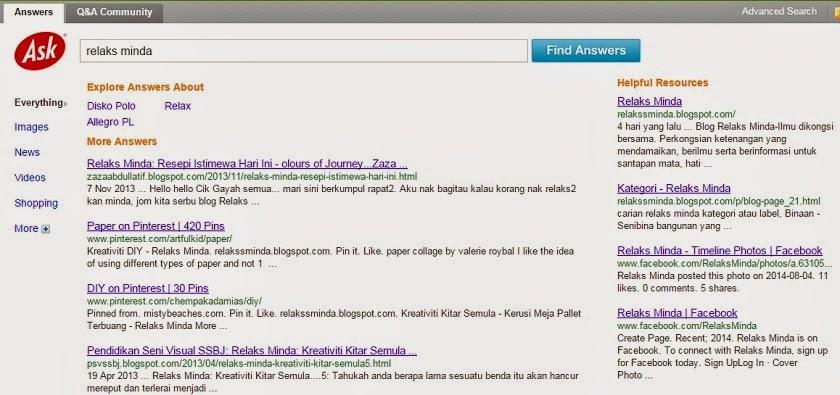Anda Tanya Ask.com Jawab