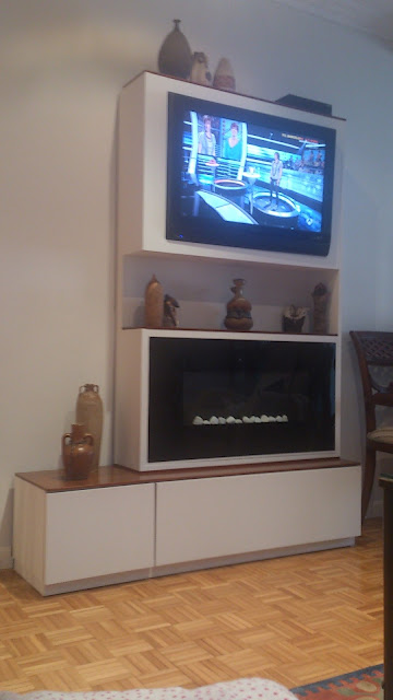 tv y chimeneawww.lolatogadecoracion.es