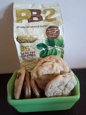 PB2 Hugs cookies