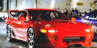 Foto Mitsubishi 3000GT Paul Walker Fast Furious
