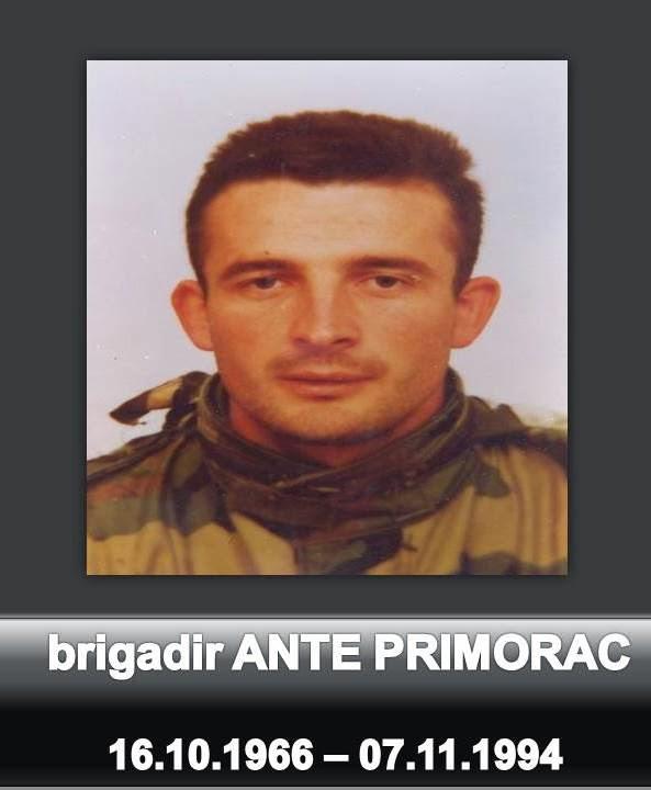 Obilježavanje 21. godišnjice pogibije brigadira Ante Primorca