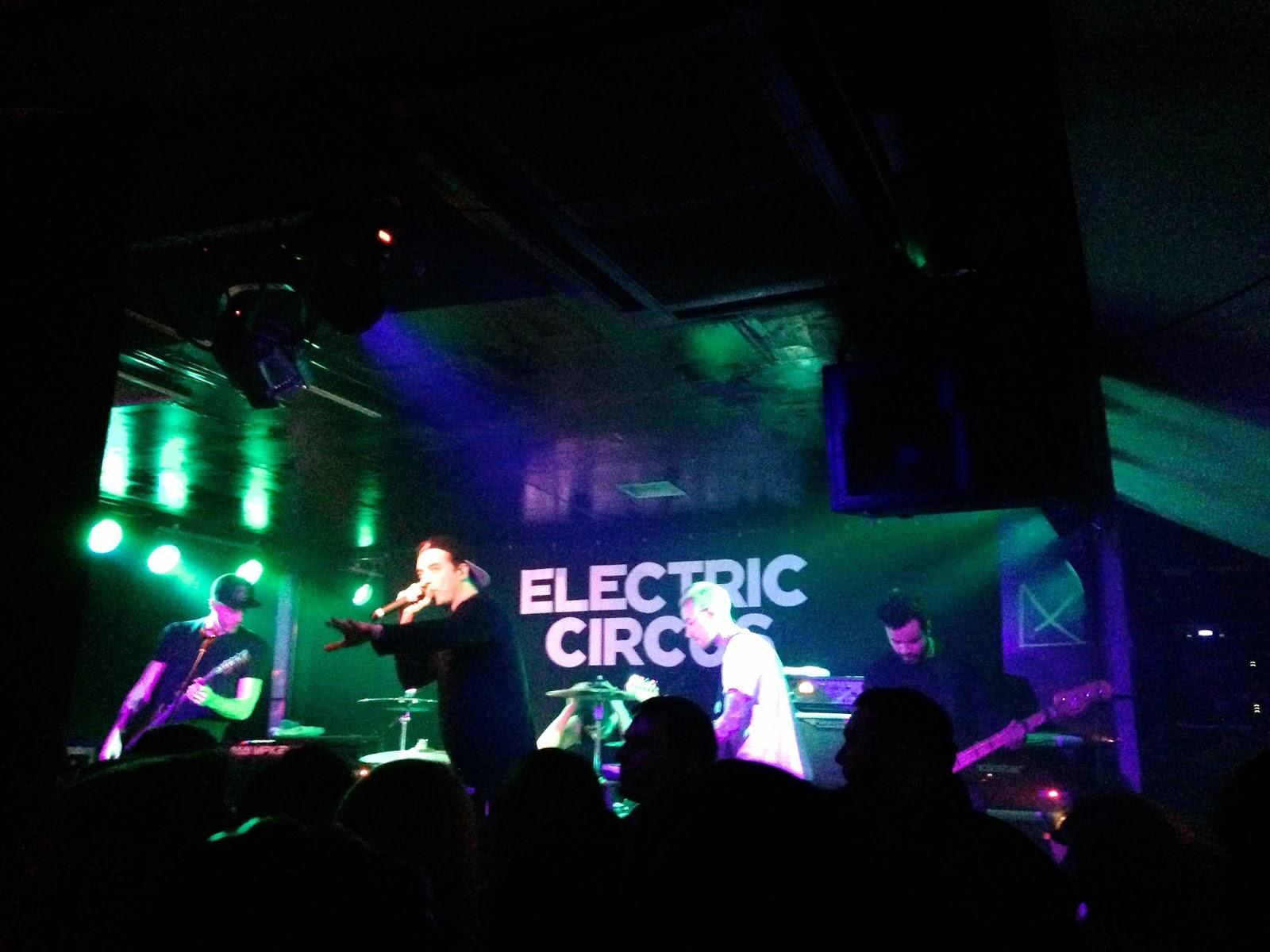 Young Guns concert tour at Electric Circus, Edinburgh