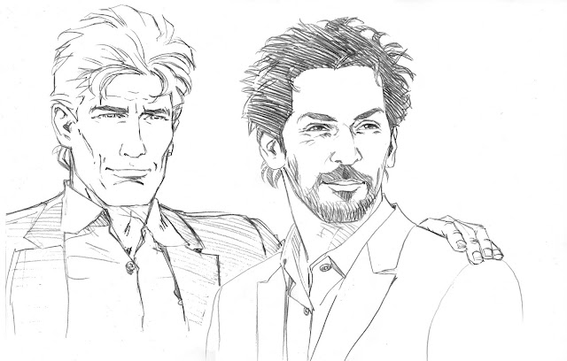 Largo Winch dessin