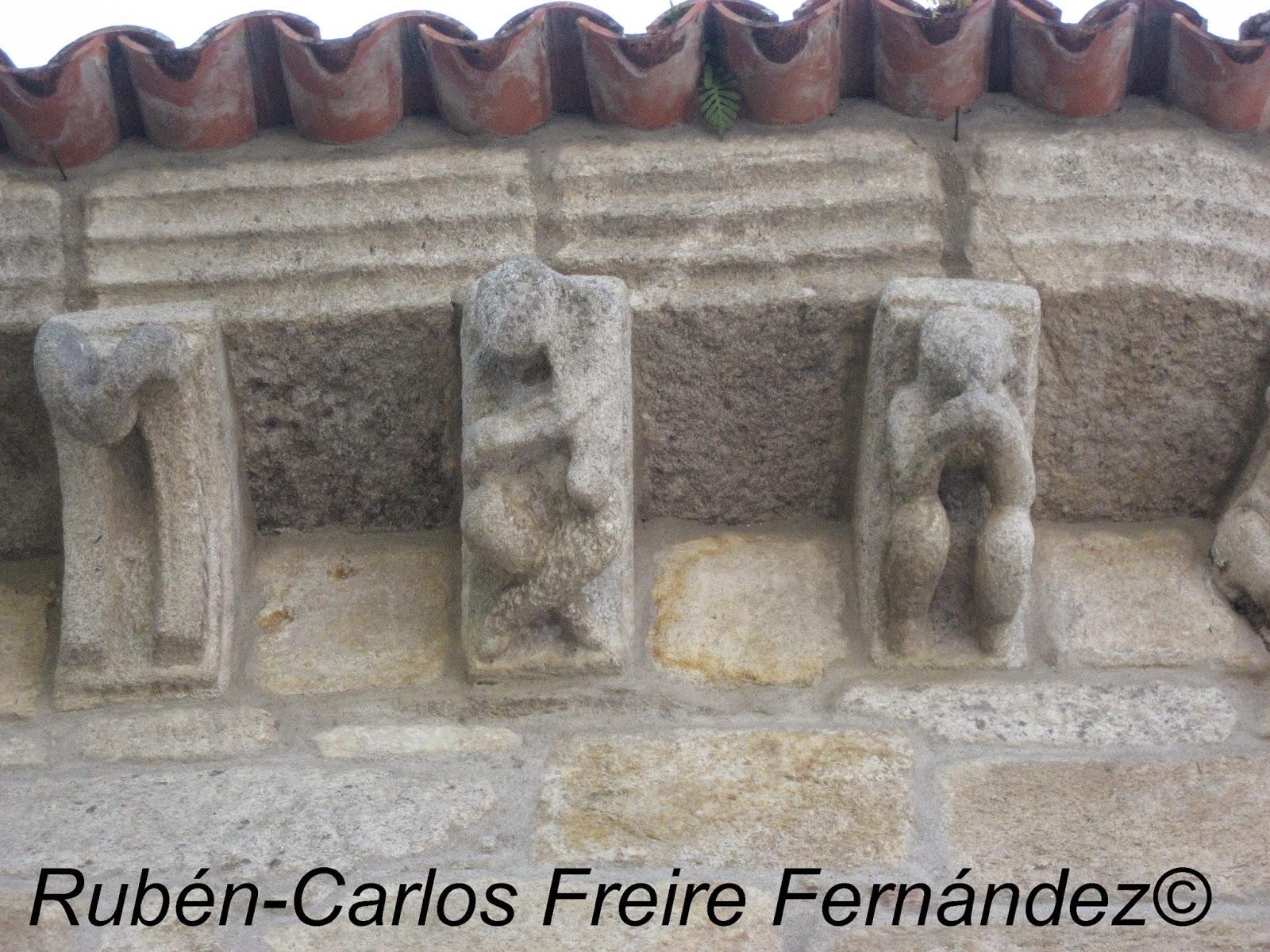 Romanico hispania romanico en vigo ii santiago de bembrive for Estilo arquitectonico que usa adornos con plantas y animales