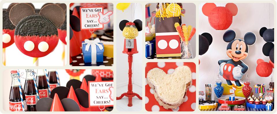 Www karaspartyideas com 2012 06 mickey mouse 1st birthday party html