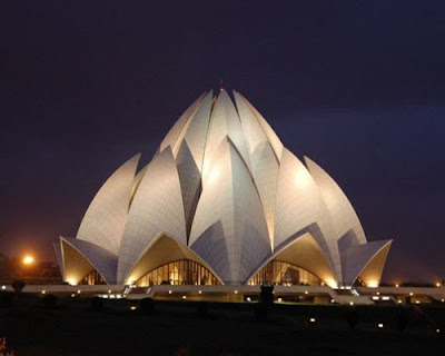 Baha'i House of Worship alias Lotus Temple