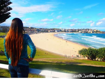View of Bondi Beach in Sydney