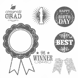 Blue Ribbon Stamp Set