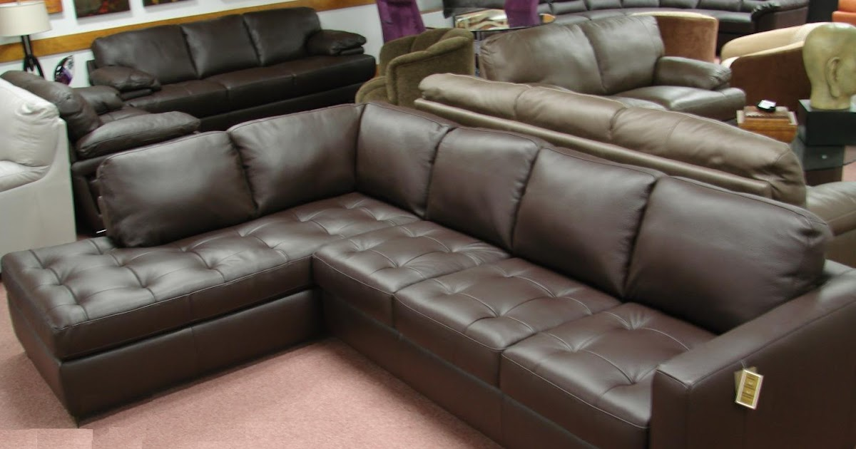 Natuzzi Leather Sofas & Sectionals by Interior Concepts