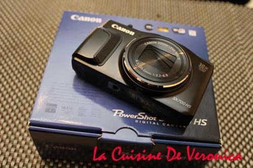 La Cuisine De Veronica Canon PowerShot SX700