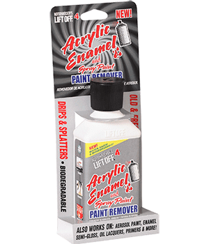 lift off 4 acrylic enamel and spray paint remover. Black Bedroom Furniture Sets. Home Design Ideas