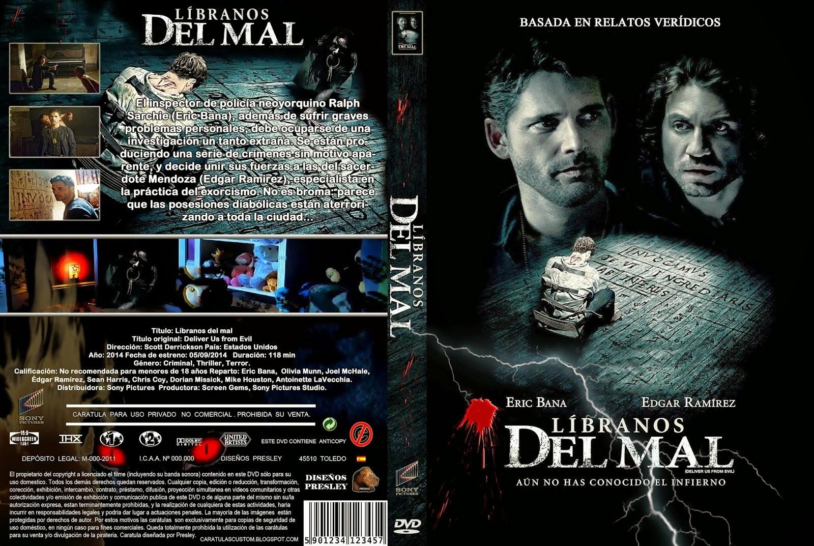 Libranos Del Mal DVD