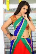 Santoshi sharma half saree pics-thumbnail-6