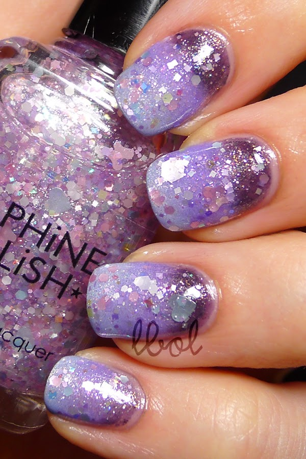Daphine Polish - Lullaby & Purple Gradient