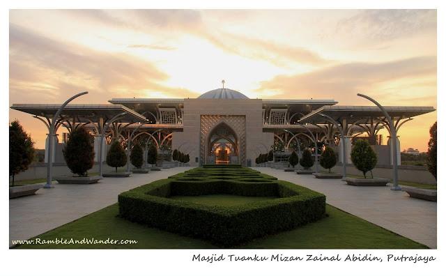 Masjid Tuanku Mizan Mosque, Putrajaya, Malaysia