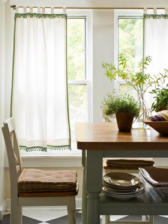 2014 Cheap And Easy Window Treatment Projects Ideas: simple window treatments