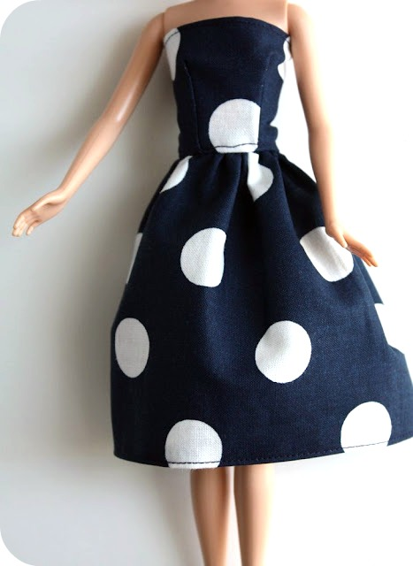 Barbie dress tutorial for Own the couture