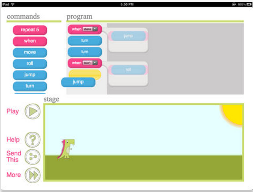 Two Basic iPad Apps for Teaching Coding to Kids ~ Educational ...