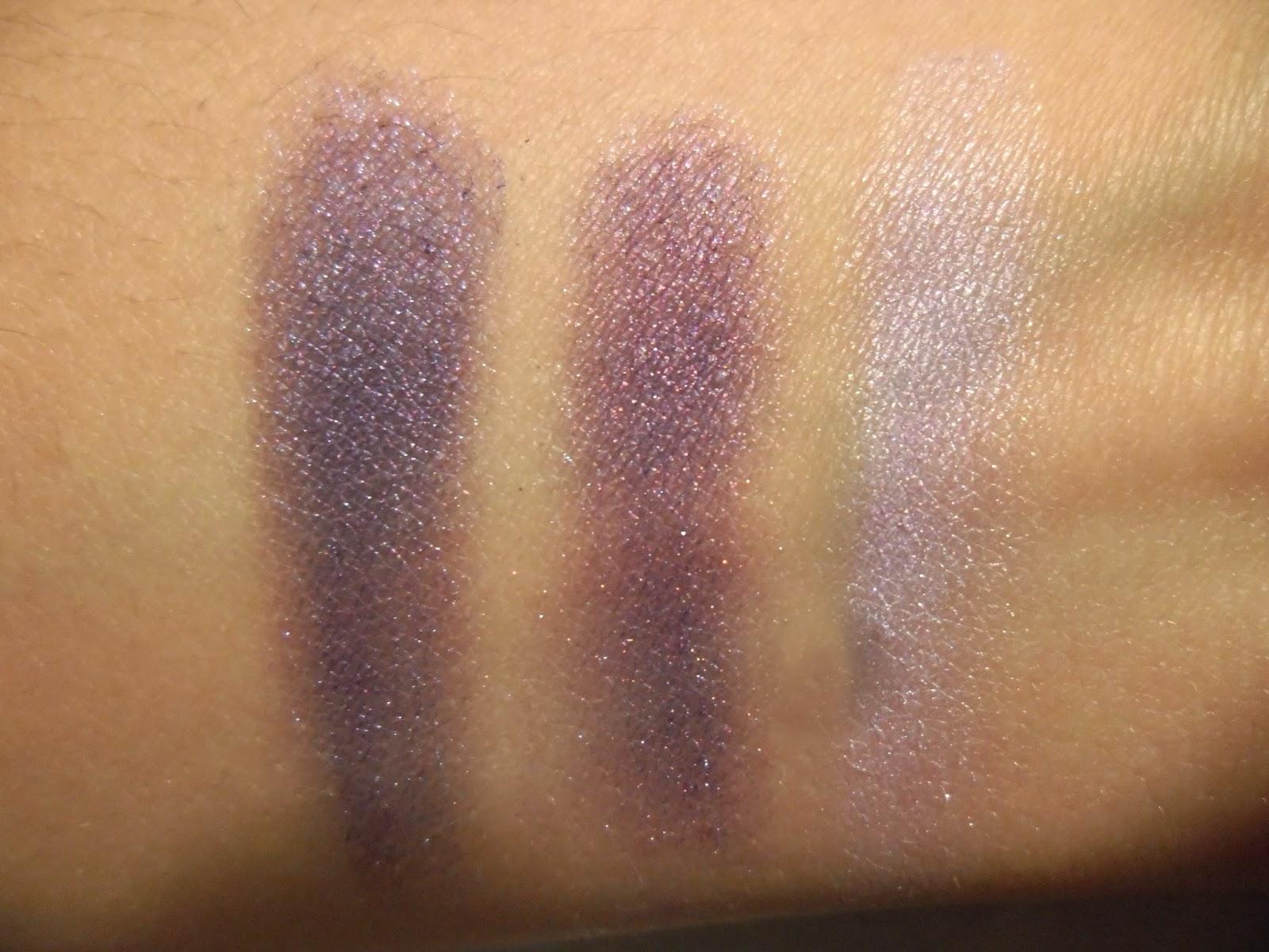 Shiseido trio de sombras