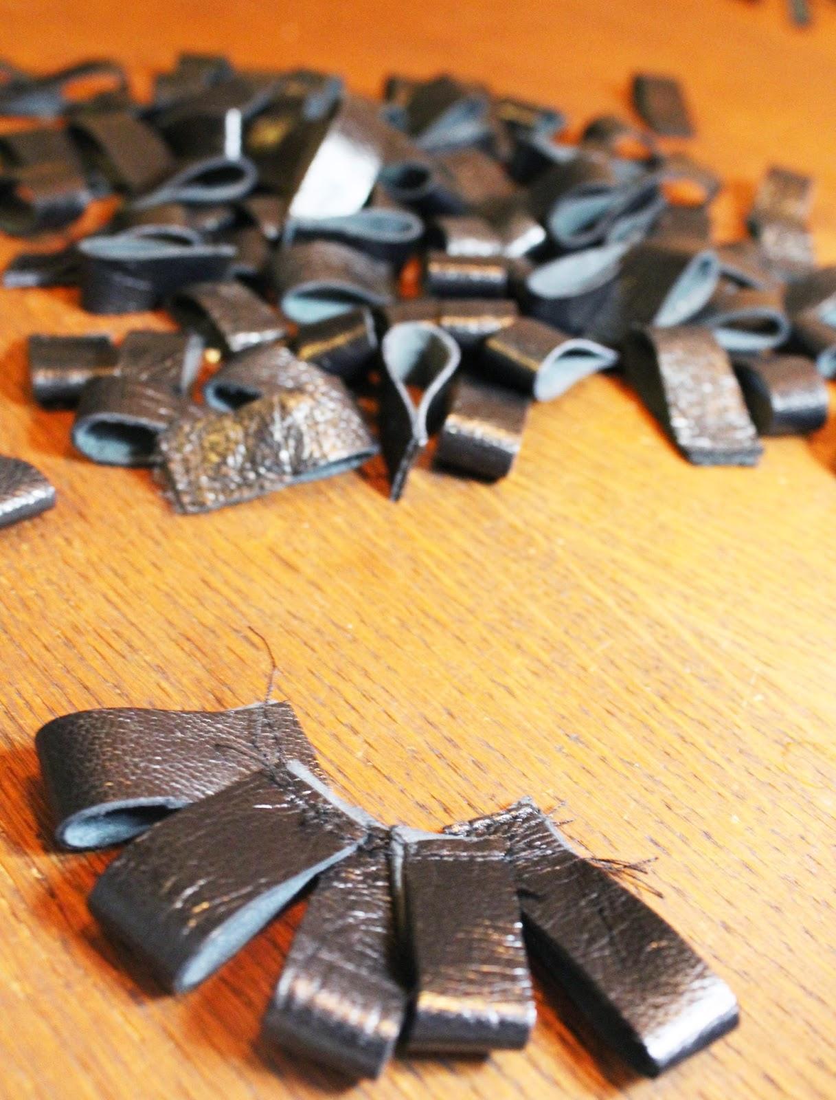 blog DIy zrób to sam,pomysły i inspiracje DIY,jak zrobić naszyjnik, biżuteria z recyklingu