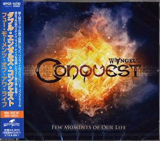 W. Angel's Conquest Ukraine Power Metal Few Moments Of Our Life