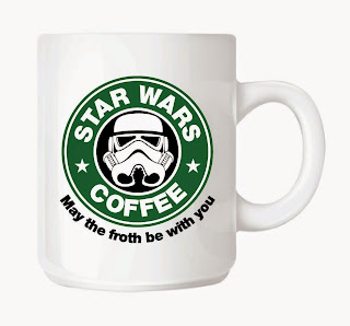 Taza friki Star Wars Stormtrooper Starbucks