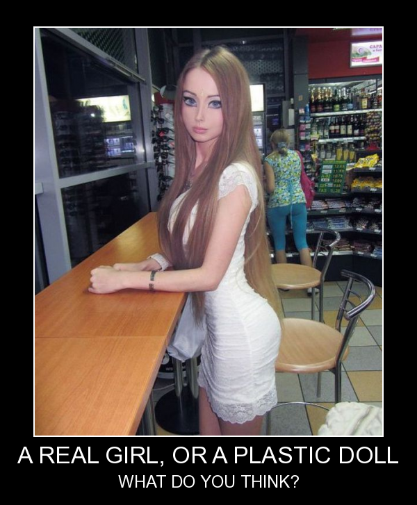 Real Or Plastic Doll?