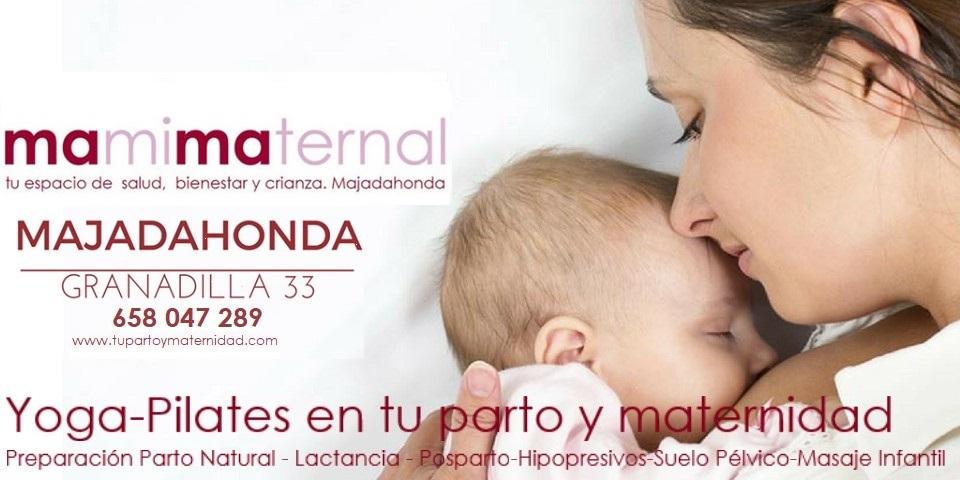 """MAMIMATERNAL""""Ejercicios para embarazadas, yoga, parto y posparto en Majadahonda. Madrid Noroeste"""