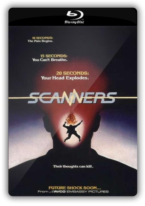 Scanners (1981) BRRip 720p