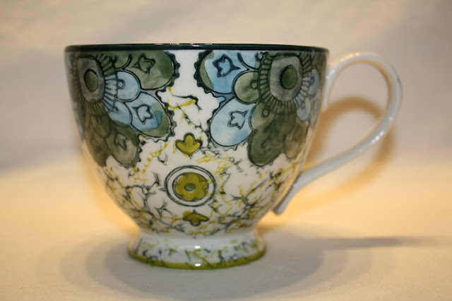 Anthropologie Kebaya Mug