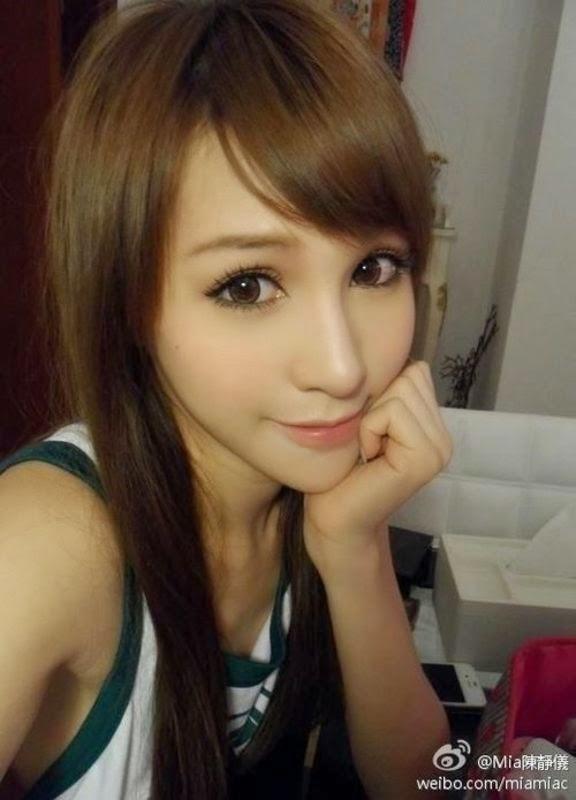 Mia Chan (陳靜儀) Model Cantik Hongkong 72bidadari.blogspot.com
