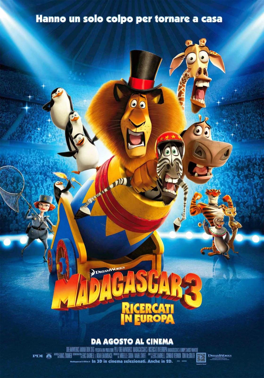 Madagascar 3 un no parar de risa
