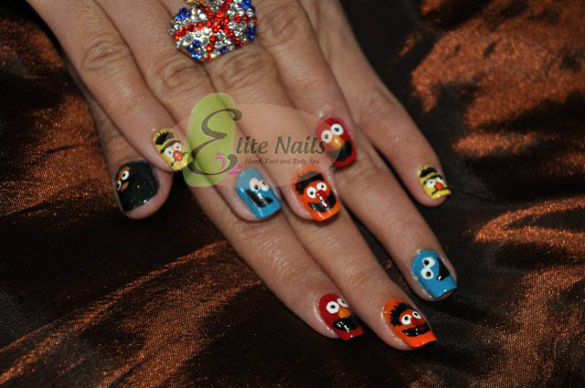 Elite Nails Hand Foot And Body Spa Featured Nail Art Sesame