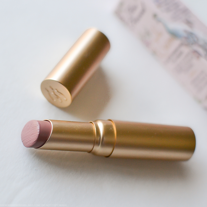 Too Faced La Creme Color Drenched Lip Cream Lipsticks Swatches Review Nude Beach