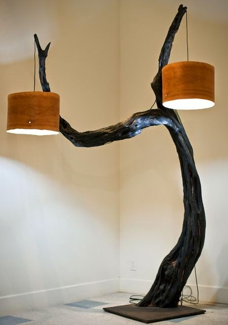 Beautiful DIY Wood Lamps And Chandeliers