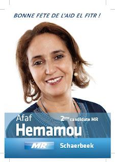 Afaf Hemamou, Wallonie Bruxelles internationnal
