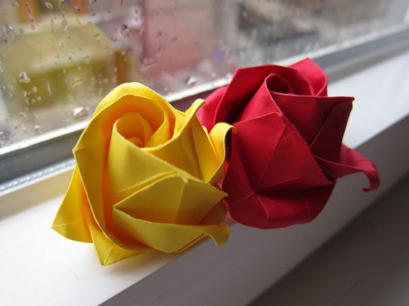 バラ 折り紙 福山 バラ 折り紙 : ... : 結婚式には折り紙のバラを