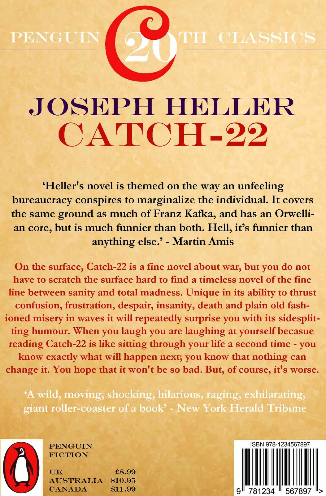 cath 22 A satirical antiwar novel written by joseph heller and published in 1961, catch-22 focuses on yossarian, a usaaf bombardier on the italian front during.