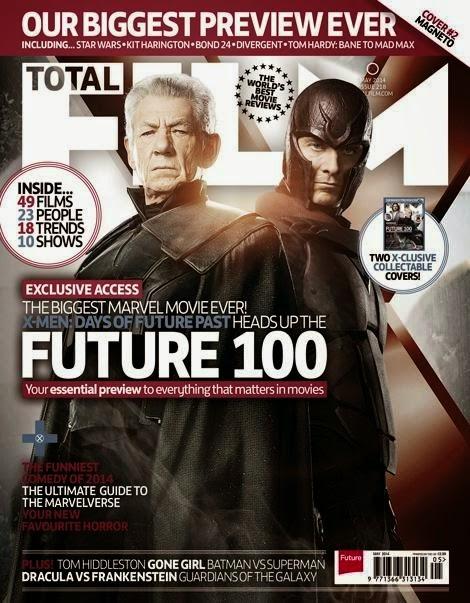 Magneto - Portada Total Films: X-Men: Días del Futuro Pasado