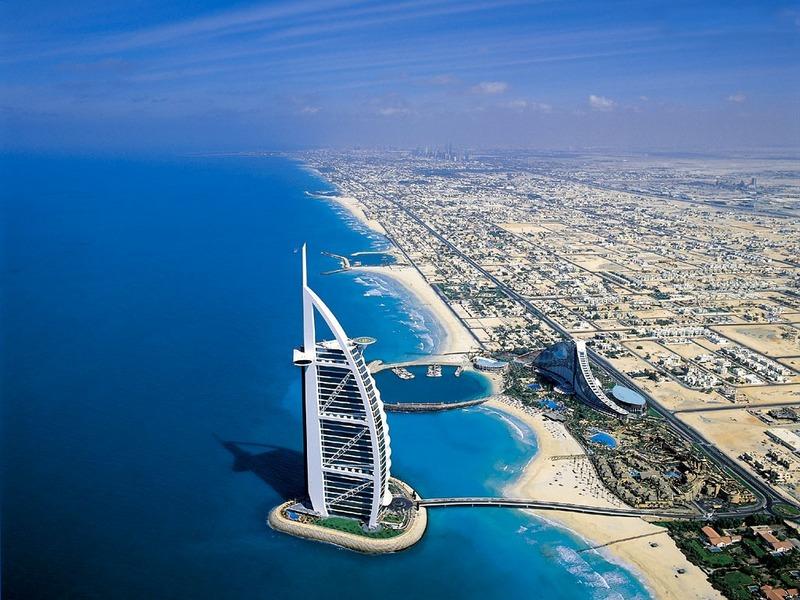 Burj al arab il primo hotel 7 stelle al mondo for K porte inn hotel dubai