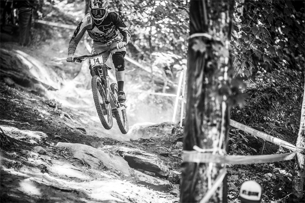 2015 Windham UCI World Cup Downhill: Practice HIghlights Dean Lucas