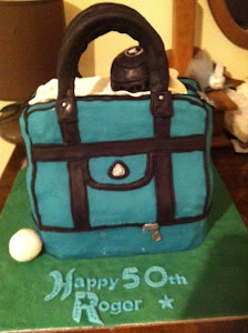 Lawn Bowls Bag cake
