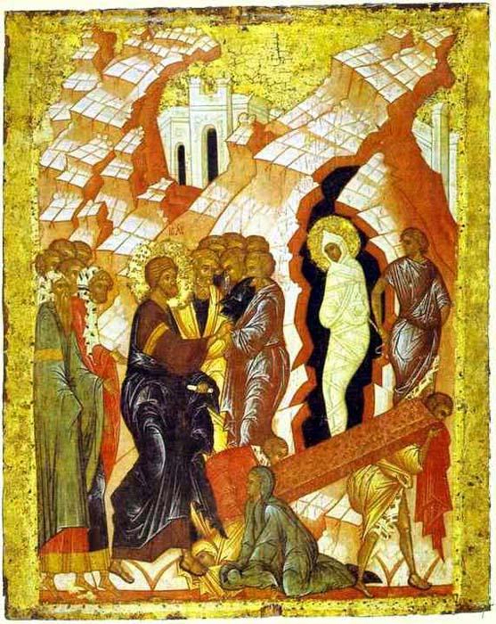 La risurrezione di Lazzaro  dans immagini sacre 81850H